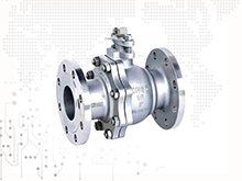 ANSI API Cast Steel And Stainless Steel Flange Ball valve